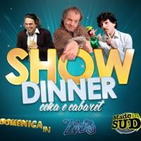 Show Dinner – I tre appuntamenti di cena e cabaret in Terrazza Murat