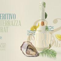 Aperitivo in Terrazza Murat con Ostriche&Champagne