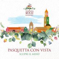 """Pasquetta """"con vista"""": scopri il  menu di Terrazza Murat"""