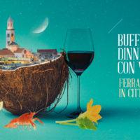 Cena di Ferragosto sotto le stelle in Terrazza Murat